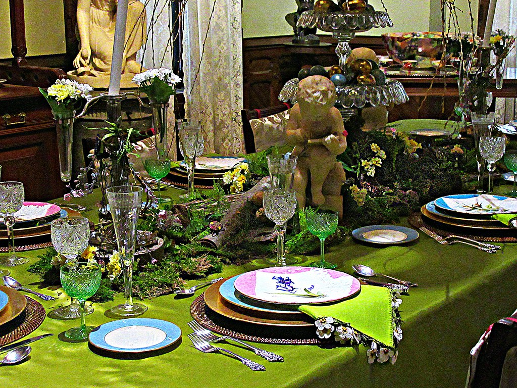 Victorian table setting | by DannyAbe Victorian table setting | by DannyAbe & Victorian table setting | Glenview Mansion Hudson River Musu2026 | Flickr