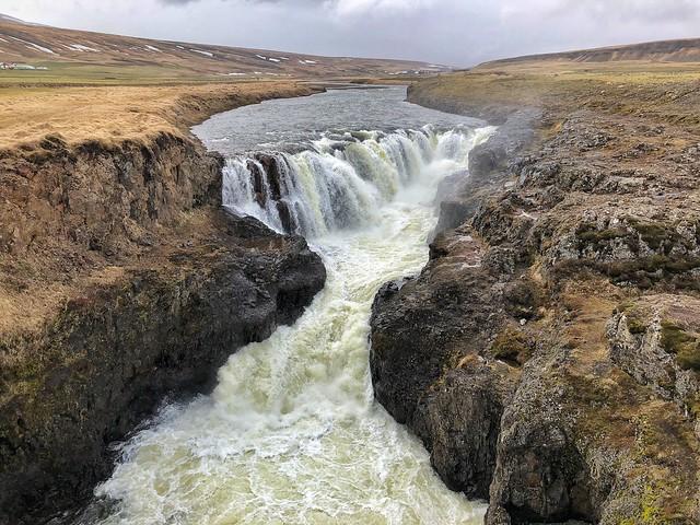 Kolugljúfur, una de las cascadas más bonitas de Islandia