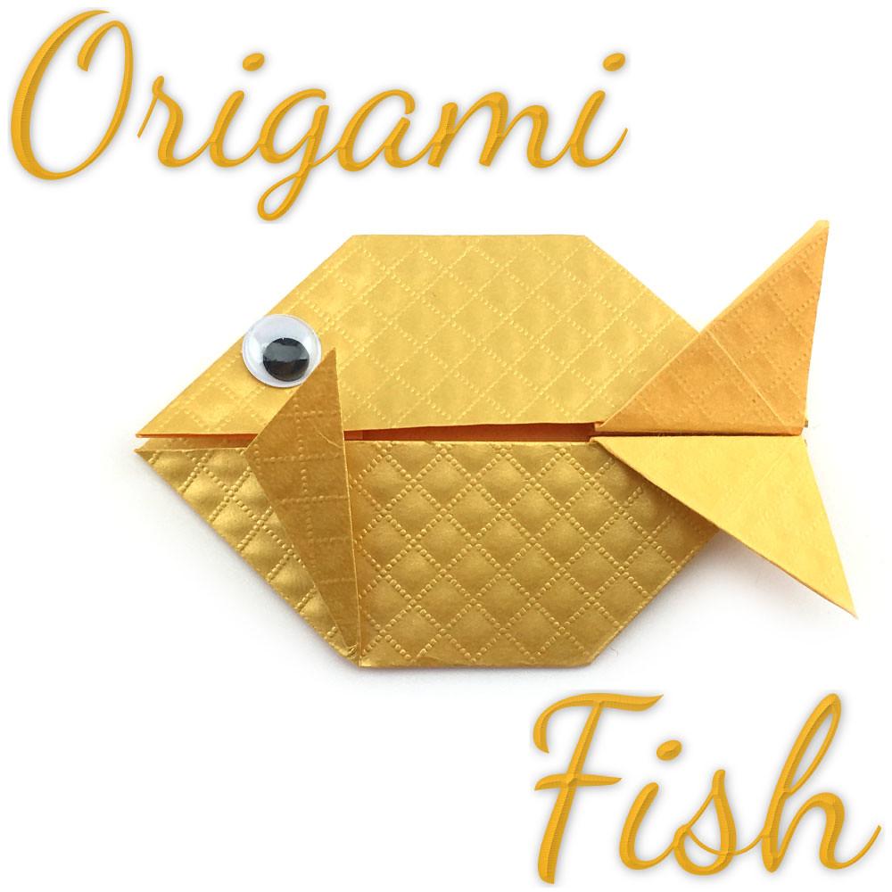 Easy Origami Fish Tutorial Origami Makehowto Orig Flickr