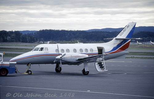 Coast Air Jetstream 31 LN-FAL at ENFB/FBU 03-05-1998 | by Ole Johan Beck