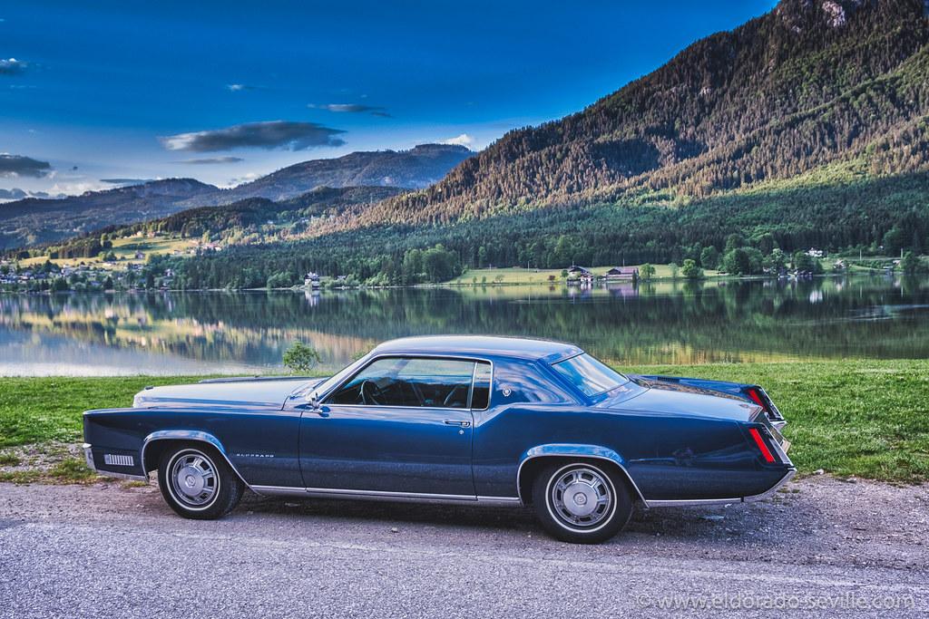 Atlantis Blue Firemist 1967 Cadillac Eldorado A Picture Of Flickr