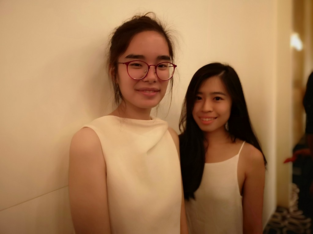 Ms Tan Yuan Ling and Ms Emily Mok, junior art directors at McCann Health.