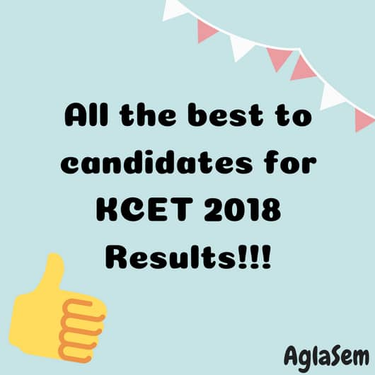 KEA To Announce KCET 2018 Result By 30 May