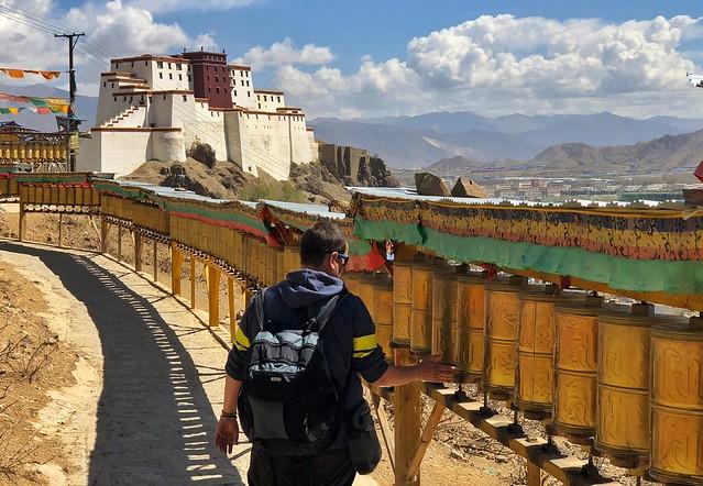 Kora de Tashilhunpo (Shigatse, Tíbet)