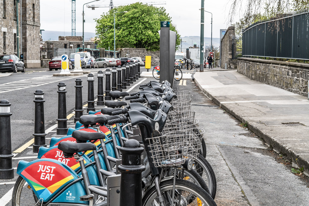 DUBLIN BIKES DOCKING STATION NUMBER 104  003
