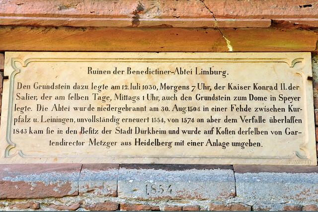 Kloster Klosterruine Limburg Bad Dürkheim Wald Natur wandern Kunst Pfälzer Wald ... Mai 2018 ... Fotos: Brigitte Stolle