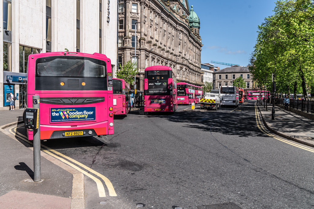 BELFAST BUSES -  [MAY 2018]  004