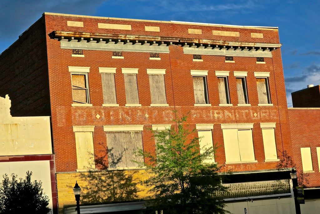 Fomer Furniture Store Rocky Mount Nc Ghost Sign On An Ab Flickr