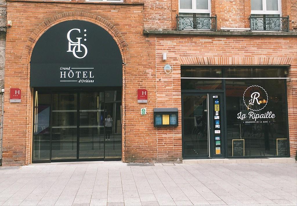 La façade du gho toulouse convention bureau agence d