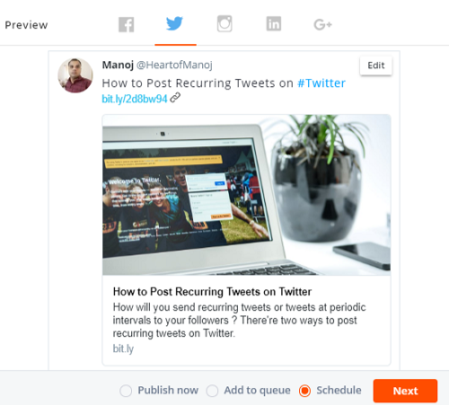 How to Post Recurring Tweets on Twitter (3 Ways) 1