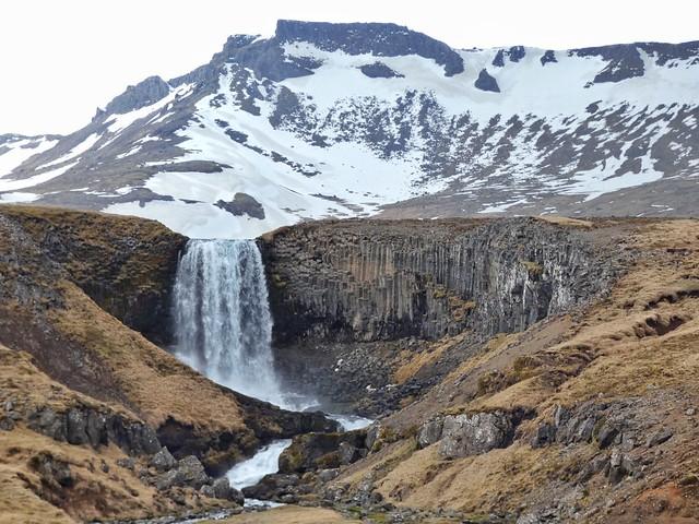 Svödufoss (Snaefellsnes, Islandia)