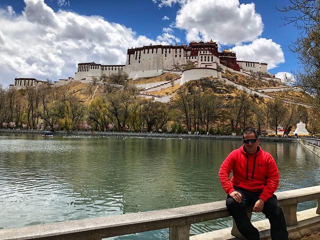 Sele en Lhasa (Tíbet)