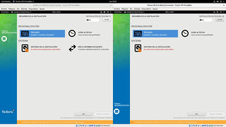 Comparando-la-instalacion-de-Fedora-27-Workstation-con-Fedora-28-Workstation