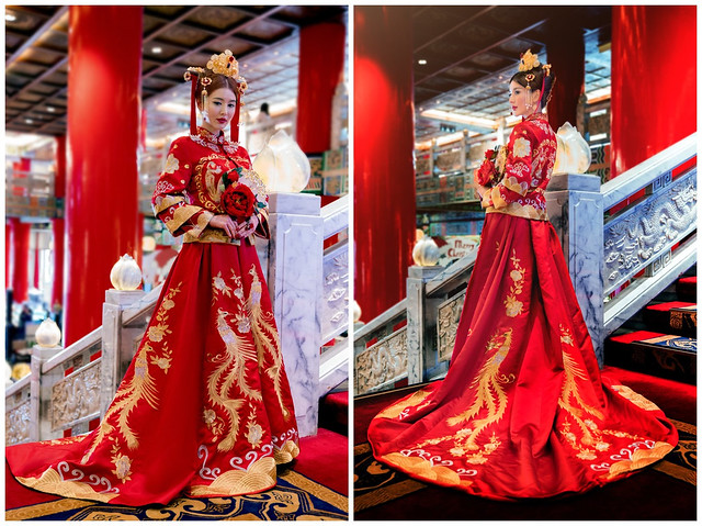 新娘秘書,中式新娘,新娘造型,中式嫁衣,中式婚紗,旗袍婚紗,中國風婚紗,龍鳳褂,秀禾服,中式禮服