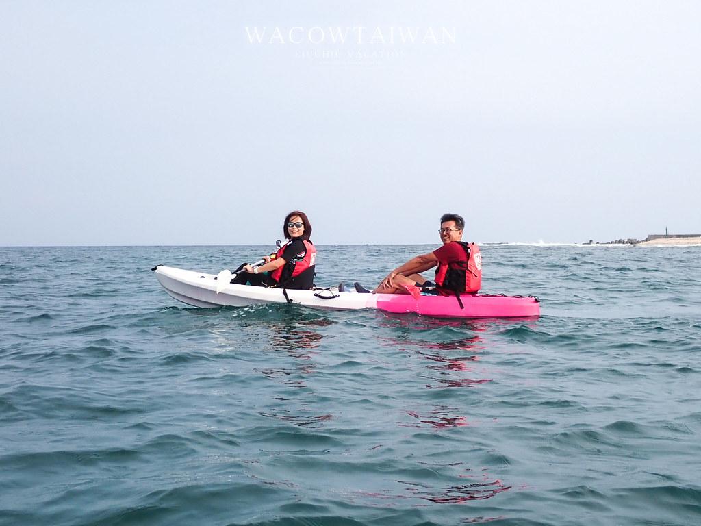 小琉球南島獨木舟