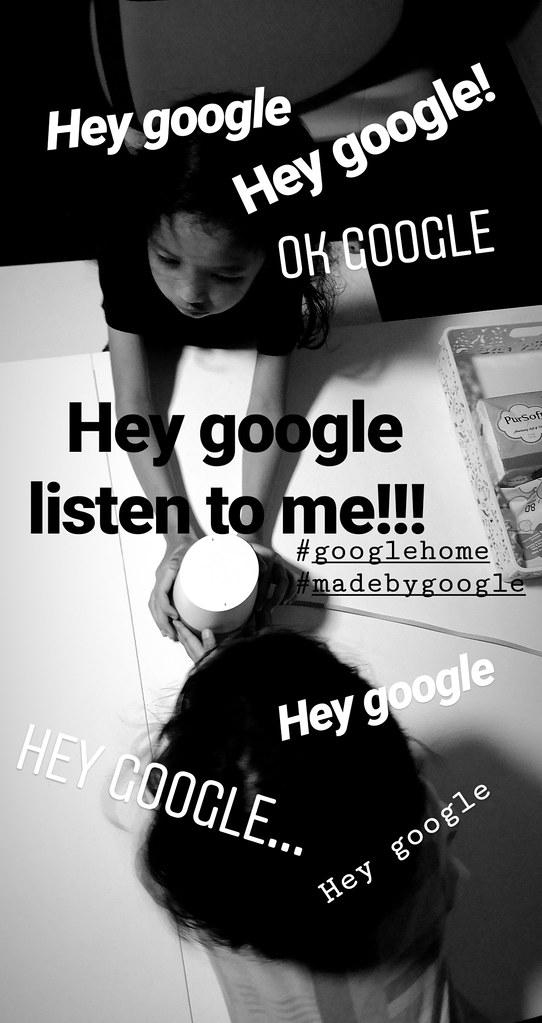 The Loving Mum tries Google Home