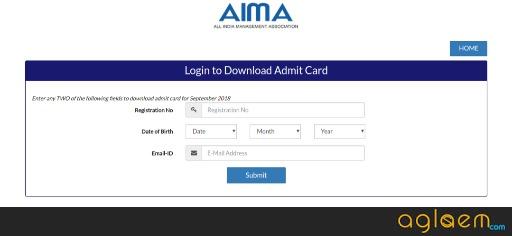 MAT September 2018 Admit Card/ Hall Ticket  %Post Title, %Post Category, AglaSem