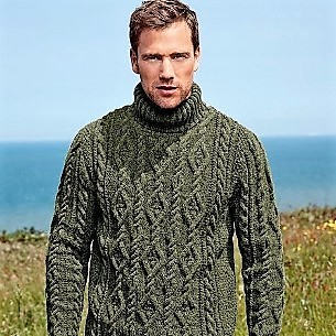 Men In Aran Fisherman Turtleneck Mytwist Flickr