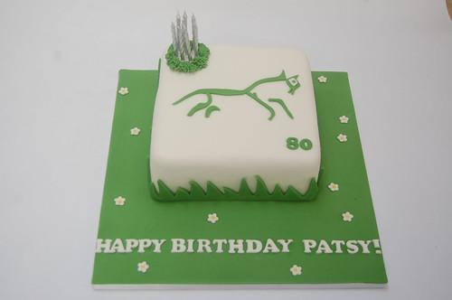 Patsy Horse Birthday Cake