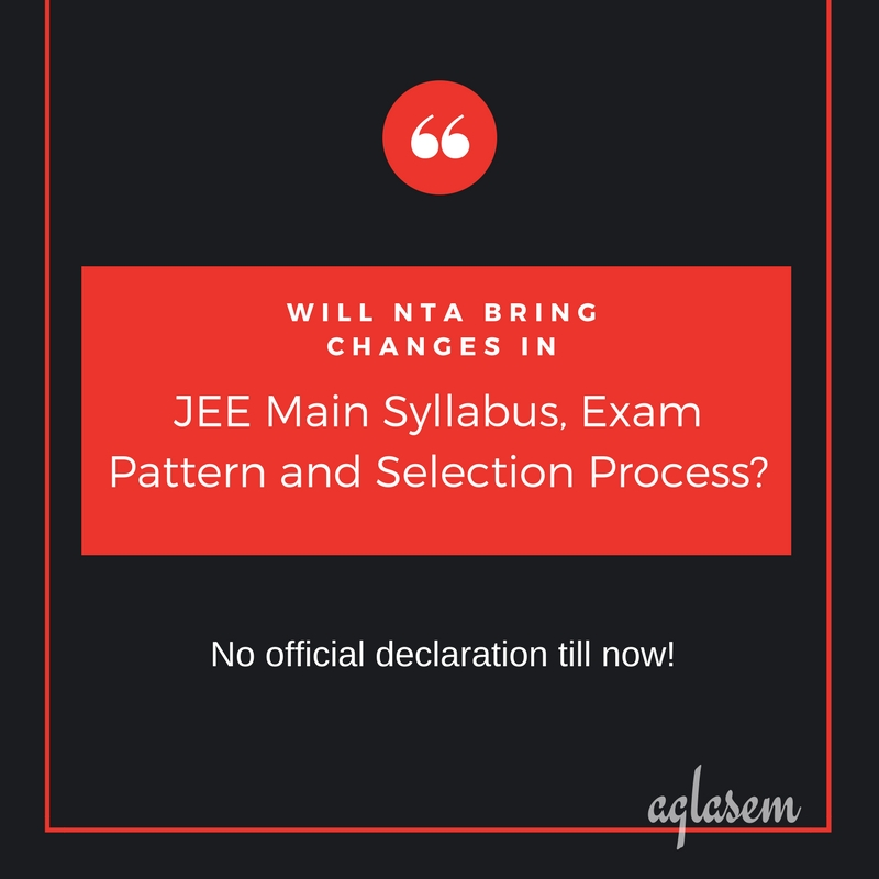 Will NTA Conduct JEE Main 2019