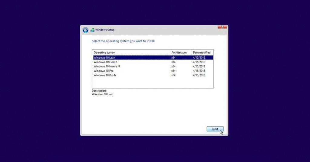 Windows 10 Lean: un nuevo modo ligero que llegará con Redstone 5