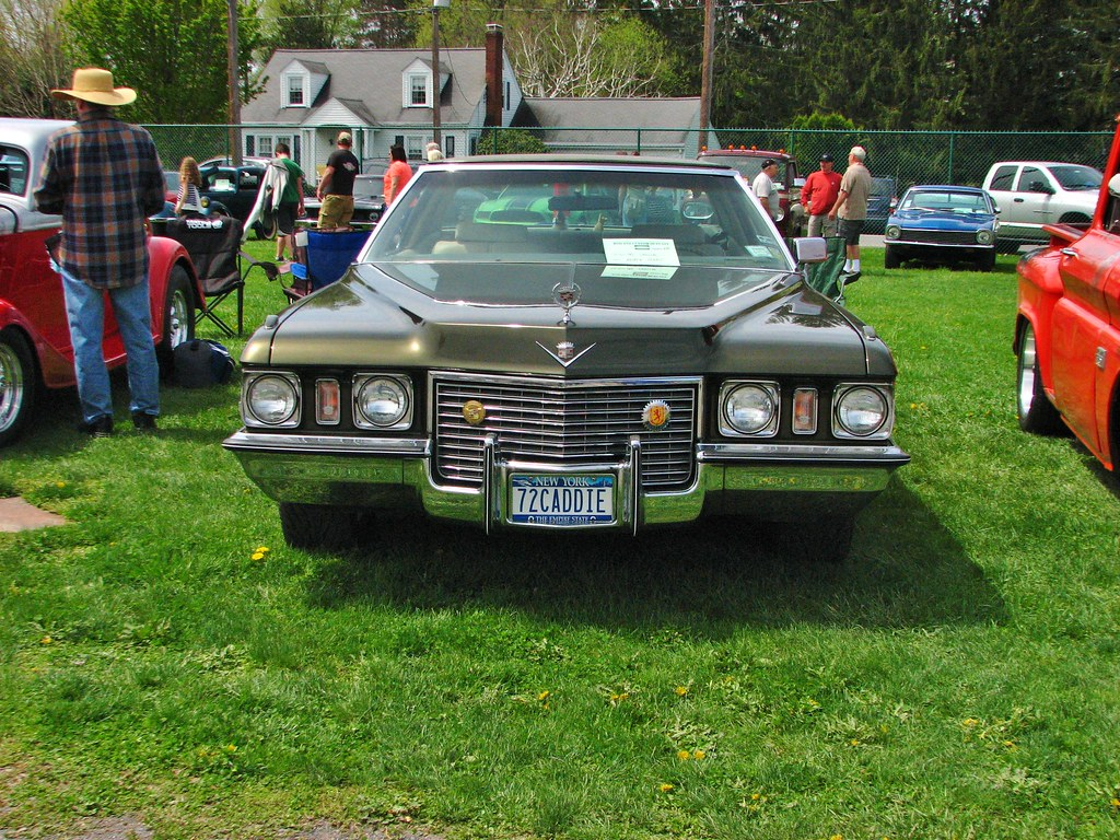 A 1972 CADILLAC COUPE DEVILLE | Seen at the 2018 Rhinebeck ...