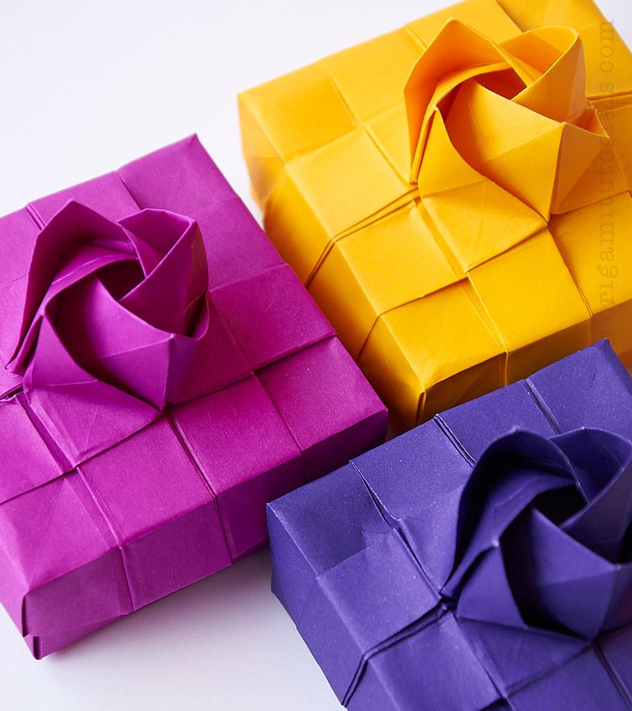 Origami Kawasaki Rose Box Tutorial Design Du Xiaokang Yt Flickr