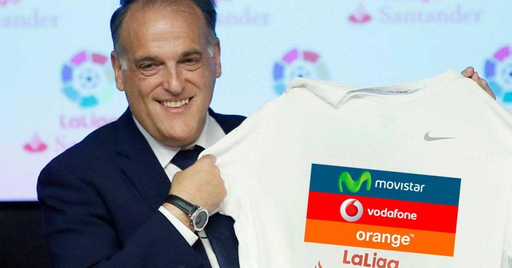 LaLiga declara la guerra a los operadores: fútbol por Internet y no vinculado a un paquete combinado
