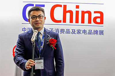 """Suning has been the chief strategic partner of CE China for the past three years. The show has provided a very good platform for domestic and oversees businesses and consumers. That is one of the reasons we are cooperating with CE China,"" said Dai Fengjun, South China Executive President and General Manager of Guangzhou Suning Group."