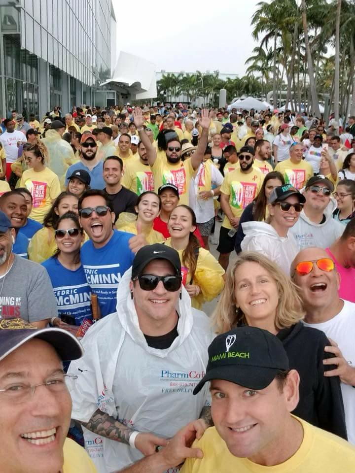 AIDS Walk Miami Crowd Picture