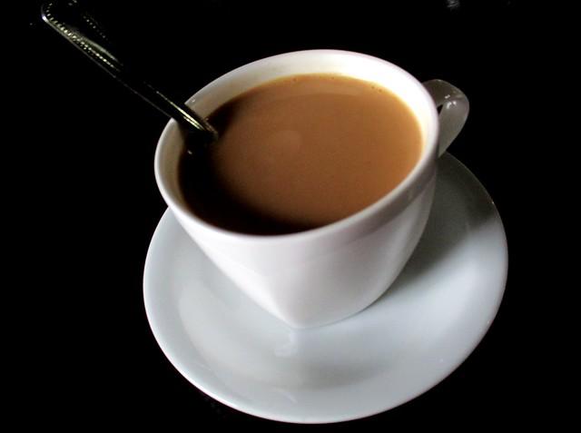 Cafe IND ginger tea