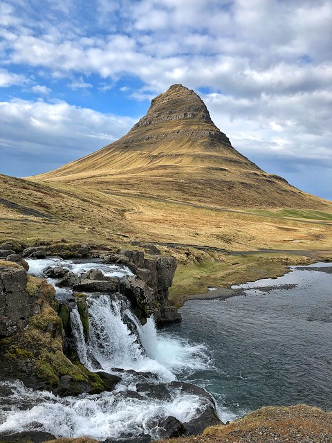Kirkjufell (Snaefellsnes, Islandia)