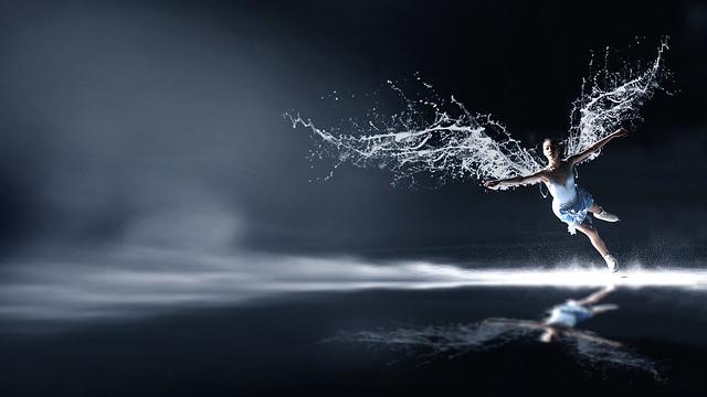 김연아 날개