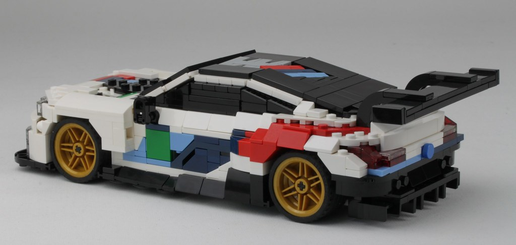 Lego Bmw M8 Gte In Scale 1 20 Rear First Prototype Of My Flickr