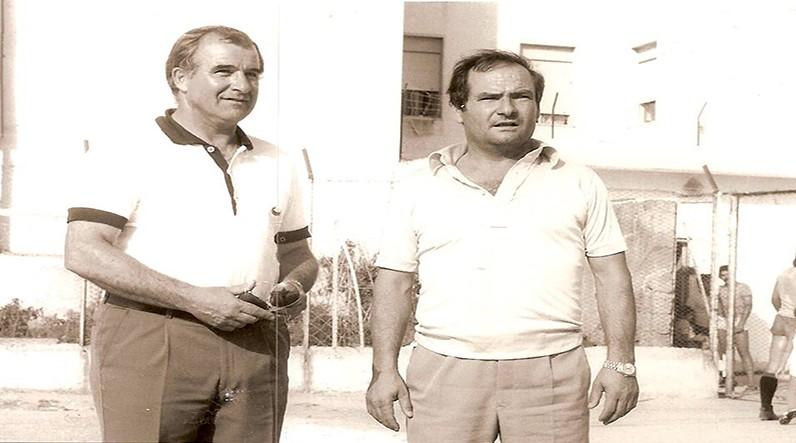 Mister Matteucci insieme al Cavalier Massimino