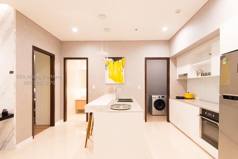 Nhà mẫu Richlane Residences Mapletree phòng bếp