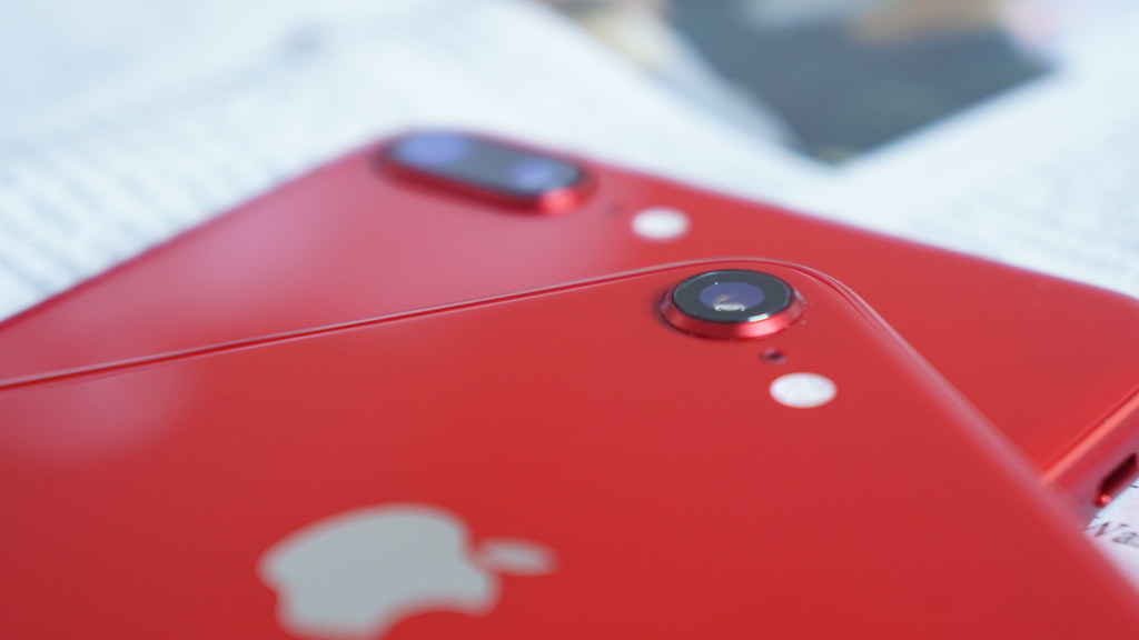 iPhone X/iPhone 8のカメラ