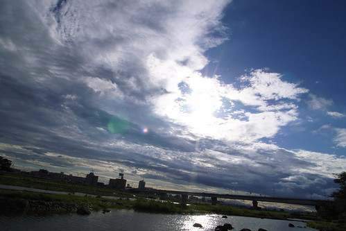Tamagawa clouds | by rahen z