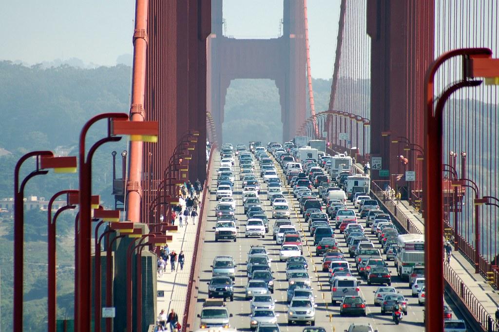Traffic on Golden Gate Bridge | Swapnil Patil | Flickr