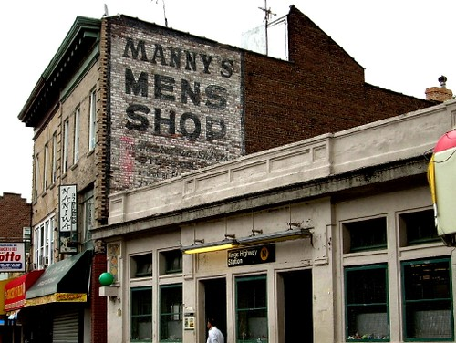 manny's mens shop, gravesend | by gary jarvis