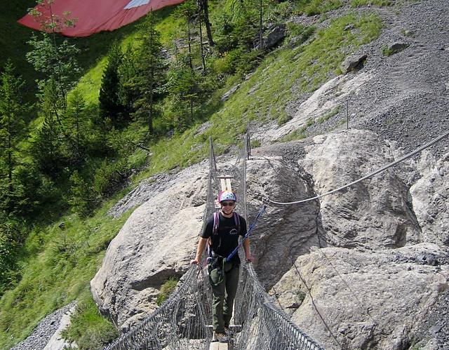 Klettersteig Bern : Steg bei schweizerkreuz klettersteig kandersteg allmenalp u flickr