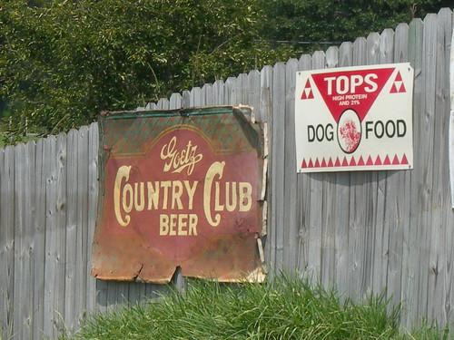 Country Club Drink Menu