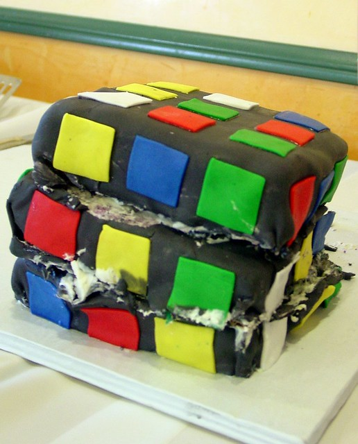 rubiks cube cake my life as a reluctant housewife flickr