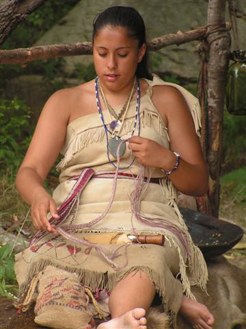 Wampanoag Indian In Plymouth Plantation Plymouth