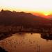 Sunset over Rio