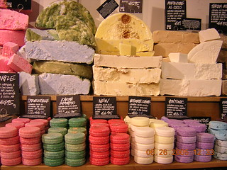 Soap at Lush- Venice, Italy | by dbur4900