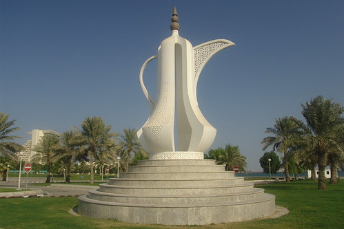 Teapot | The teapot monument on the Corniche in Doha ...
