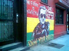 Joe Strummer mural, St. Marks, NYC | by Vee the Monsoon