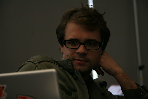 Cody Simms, Yahoo Hack Day 2006 | by freshelectrons