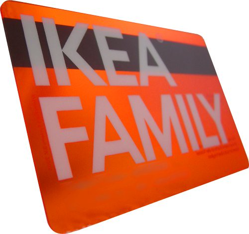 ikea family card i like the design of the ikea family card flickr. Black Bedroom Furniture Sets. Home Design Ideas